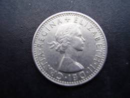 Great Britain 1967 QUEEN ELIZABETH II SIX PENCE USED COIN As Seen. - 1902-1971 : Post-Victorian Coins