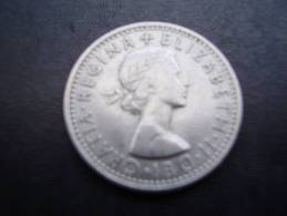 Great Britain 1966 QUEEN ELIZABETH II SIX PENCE USED COIN As Seen. - 1902-1971 : Post-Victorian Coins