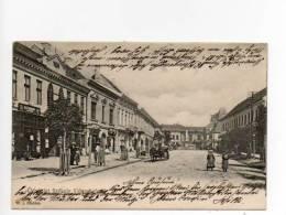 Székelyudvarhely  Odorheiu Secuiesc Areopolis Oderhellen  Odderhällen Kossuth Utca Bahnpost - Romania