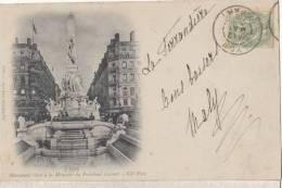 Lyon - Monument élevé à La Mémoire Du Président Carnot  - Carte Précurseur    : Achat Immédiat - Otros