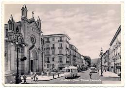 AVELLINO - CORSO VITTORIO EMANUELE - 1955 - FILOBUS - PULLMAN - BUS - Autobus & Pullman