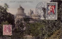 Carte Postale - Alençon- Timbre Et Cachet - Exposition Philatelique Paris 1959 - Europa - Saint Nicolas Imagerie 1951. - Cachets Commémoratifs