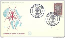 NIGER  - 7 4 1962  FDC MALARIA - Disease