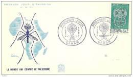 SENEGAL - 7 4 1962  FDC MALARIA - Disease