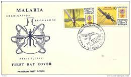 PAKISTAN - 7 4 1962 FDC MALARIA - Disease