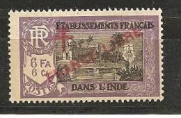 FrenchIndia1941-3: Yvert166 Mnh** - India (1892-1954)