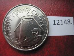 Barbados  25  Centimos  2008 - Otros – América