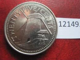 Barbados  25  Centimos  2008 - Monedas