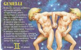 TARJETA DE SAN MARINO DE HOROSCOPOS - GEMINIS  (NUEVA-MINT) - Zodiaco