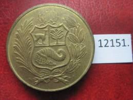 Peru  50  Soles  1982 - Monedas
