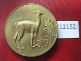 Peru  1  Sol  1967 - Monedas