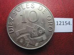 Peru  10  Soles  1969 - Monedas