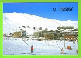 LA TOUSSUIRE / VUE PARTIELLE / Carte Vierge - Sports D'hiver