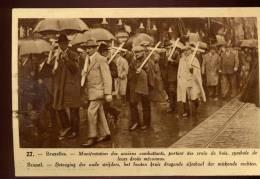 PK  Brussel - Betoging Oud Strijders - Manifestation Anciens Combattants - Manifestations