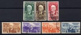 Etiopia 1936 Sass.1/7 Usato/Used VF/F - Ethiopia
