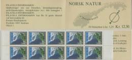 Norwegen  Markenheftchen  Landschaften 1976   Mi.Nr. 727  **  Postfrisch - Booklets