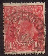 KING GEORGE V Three Half Pence Red  VFU [ KGV D2B ] - 1913-36 George V: Heads