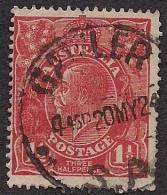 KING GEORGE V Three Half Pence Red  VFU KGV  [D30] - 1913-36 George V: Heads
