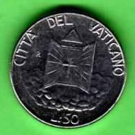 VATICANO - 1990 -  50 Lire - IOANNES PAULUS II - ANNUS XII - KM Y 222 - Vatican
