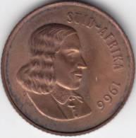 @Y@      Sud Afrika  2 C  1966  UNC (C298) - Afrique Du Sud