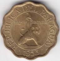 @Y@    Paraquay  10 Centimos  1953   Super  UNC   (C303) - Paraguay