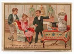 Chromo Imp. Vieillemard Pour Alcool De Menthe Ricqles - Trade Cards