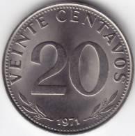 @Y@    Bolivia  20 Centavos 1971  UNC   (C304) - Bolivie
