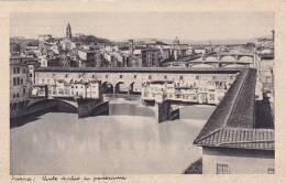 Italy Firenze Panorama Ponte Vecchio