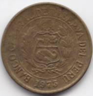 @Y@   Peru  1975  10 Centavos   (C309) - Pérou