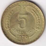 @Y@   Chili 5 Centesimos 1970   (C314) - Chili
