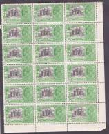 Silver Jubilee SG 240w U.m.corner Block Of Eighteen. PO Fresh. Lovely. Cat £27 As Mm Singles - 1911-35 Roi Georges V