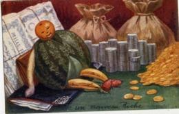 Monnaies, Billets, Pièces - Un Nouveau Riche - Illustrateur W. Miaulet - Monnaies (représentations)