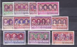 St Vincent, 1977, Michel 459-470 Without 75c - St.Vincent (...-1979)