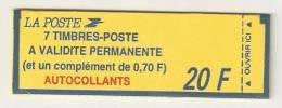 CARNET DE TIMBRES A COMPOSITION VARIABLE N°1504  COTE 32  EUROS - Carnets