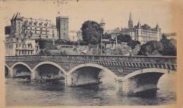 France Pau Pont de Jurancon et le Chateau 1944