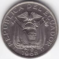 @Y@   Ecuador 10 Centavos 1968  UNC    (C324) - Equateur