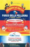 [DC1285] CARTOLINEA -CARLEVE´ ED TURIN 2009 - PARCO DELLA PELLERINA (TORINO) - Manifestaciones