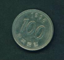 SOUTH KOREA  -  1996  100 Won  Circulated As Scan - Korea, South