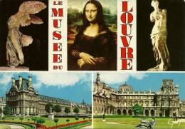 75 - PARIS - Musée Du LOUVRE - Multivues - Musées