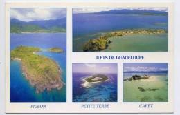 Guadeloupe-Vue Aérienne  Des Ilets De Guadeloupe--Vues Diverses (Pigeon,Petite Terre,Caret),cpm  N°263 éd Le Photographe - Guadeloupe