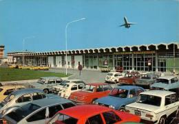 BOLOGNA -AEREOSTAZIONE-AUTO-CAR-VOITURE-CITROEN DS 21-23-BMW-LANCIA-VEDERE - Bologna