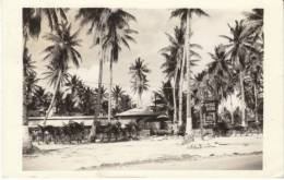 Guam, Steak House Restaurant, US Military Oceania, C1950s Vintage Real Photo Postcard - Guam