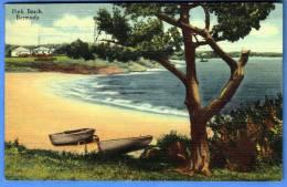 Pink Beach BERMUDA, Gelaufen 1948, Seltene Sondermarken Frankierung, Sehr Schöne Seltene Karte - Bermuda