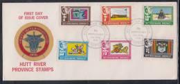Hutt River Province(Australia) 1978 8th Anniversary Of Secession FDC - Cinderellas
