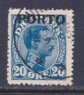 Denmark, Scott #J5 Used King, Postage Due, 1921 - Port Dû (Taxe)