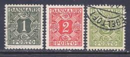 Denmark, Scott #J25-7 Used Numeral, Postage Due, 1934 - Port Dû (Taxe)