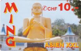 Telecard - Carte Téléphone : Asien - Ming  10.- - Suisse