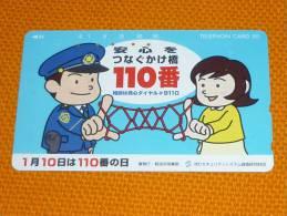 Police/Policeman - Japan Phonecard - Polizia