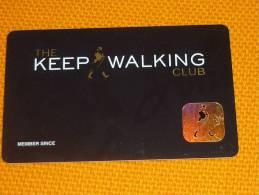 Johnnie Walker Whiskey/whisky/Alcohol - Venezuela Magnetic Member Card - Lebensmittel