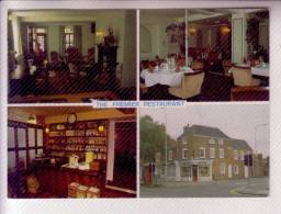 GRANTHAM LINCOLNSHIRE  Birthplace Of The Hon Margaret Thatcher M.P. THE PREMIER RESTAURANT - Inghilterra